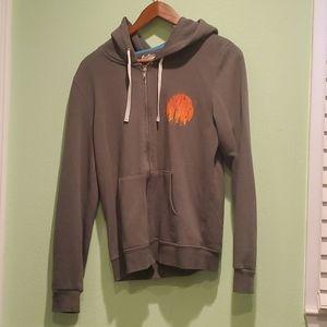 """Threadless """"Burning in the skies"""" hoodie"""